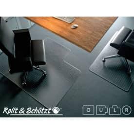 Bodenschutzmatte 2,4mm 110x120cm Form O