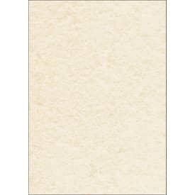 Papír dopisní Sigel oboustrannýl, A4, 90 g, 100 listů, pergamen champagne