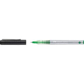 Roller Faber-Castell Free Ink, hrot 0,5 mm, zelený