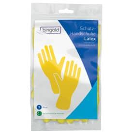Latexhandschuhe L gelb 1Paar