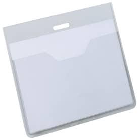 Kapsa na vizitku Durable, bez klipu, plastová, 6 x 9 cm, transparentní otevřená