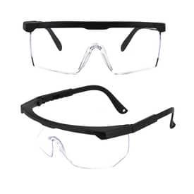 Sicherheitsbrille BrightLook transparent/schwarz