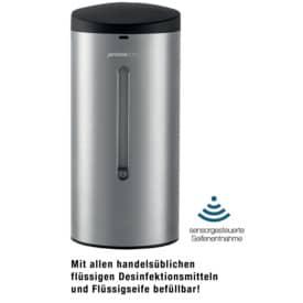 Sensor-Spender Edelstahl für Wandmontage
