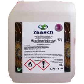 Händedesinfektionsgel Antisept A 5 Liter