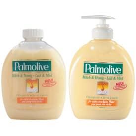 Flüssigseife Palmolive Milch&Honig 300ml +Nachfüllung