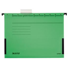W_Závěsné desky Leitz ALPHA® s bočnicemi, 25 ks zelené