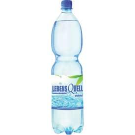 Mineralwasser LebensQuell prickelnd 1,5 Liter