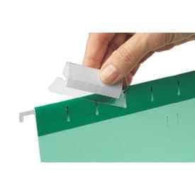 Náhradní rozlišovače pro závěsné desky - plastové, 25 ks