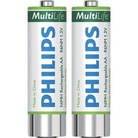 Batterie Philips Akku LFH153 2 Stück  1600 mAh