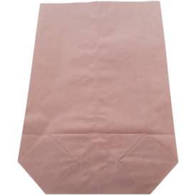 Kreuzbodensack Papier 18x28+6,5cm braun