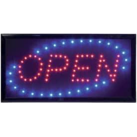 Infotafel Securit LED Sign OPEN