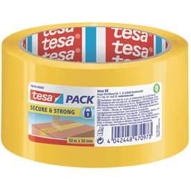 Versiegelklebeband 50mm x50m gelb TESA 58643-00000-00