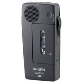 Diktiergerät Philips LFH388 analog schwarz