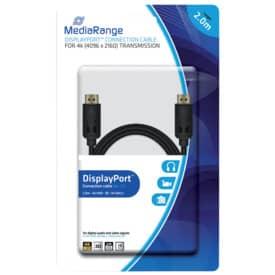 Anschlusskabel Media Range DisplayPort 10Gbit/s 2m sw