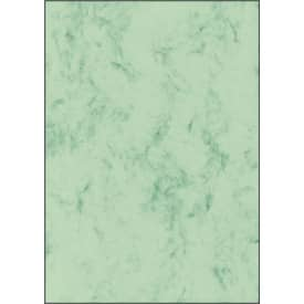Papír dopisní Sigel, A4, 90 g, 100 listů, zelený mramor
