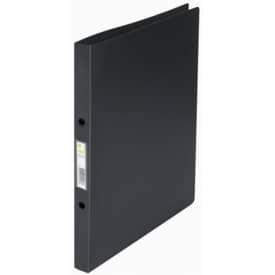 Desky 2kroužkové Q-Connect hřbet 2 cm, plast, černé