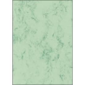 Papír dopisní  A4, 200 g, dekor mramor, zelený, 50 listů