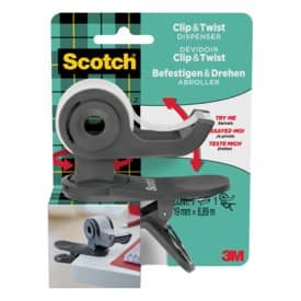 Tischabroller Scotch Magic Clip & Twist