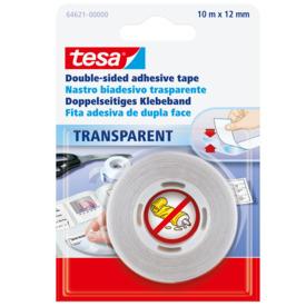 Klebeband Tesa doppelseitig 12mm 10m transparent