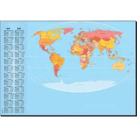 Schreibunterlage Sigel Weltkarte HO440