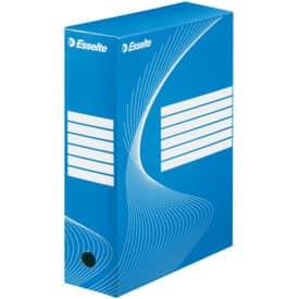 Archivační box 35x25x10 cm, modrý