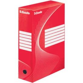 Archivační box 35x25x10 cm, červený