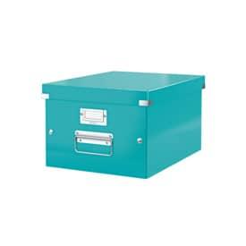 Archivační krabice Click&Store velikost M (A4), led. modrá
