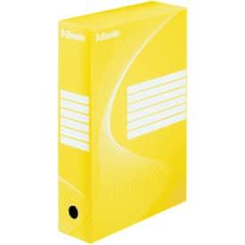 Archivační box 35x25x8 cm, žlutý