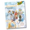 Adventkalender Bastelset FOLIA 9391 Weihnachtsdorf