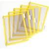 Průhledné kapsy TARIFOLD, 10 ks, žluté
