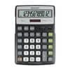 Tischrechner 12-stellig SHARP SH-ELR297BBK ECO