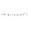 Partykette Geburtstag CONFETTI BIRTHDAY