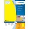 Universaletiketten Herma A4 färbig 100 Blatt