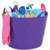 VÝPRODEJ Multifunkční kbelík Strata CEP, bez víka, 40 l, fialový