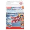 Oboustranně lepicí proužky tesa Powerstrips® Deco, transparentní, 16 ks