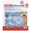 Powerstrips 5Haken 200 transp. TESA 58900-00013-03 Haken 200g