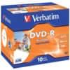 DVD-R Verbatim bedruckbar 4,7GB 120min Jewelcase
