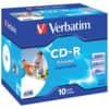 CD-R Verbatim bedruckbar 700MB 80min 10ST Jewelcase