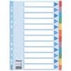 Papírový rozlišovač Esselte - A4, 12 barev