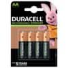 Batterie ACCU AA HR06 2500mAh 4ST DURACELL DUR057043 Precharged