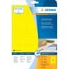 Universaletiketten 70x37 gelb HERMA 4466