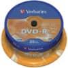 DVD-R Verbatim 4,7GB 120min 25ST Spindel