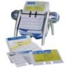 Vizitkář rotační  Durable VISIFIX na 400 vizitek, stříbrno-modrý