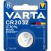 Knopfzellen-Batterie Varta Lithium CR2032 3V