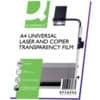 Overheadfolie A4 100ST transp. Q-CONNECT KF26066 Laser