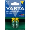 Akku-Batterie Varta AA vorgeladen / 2 Stück