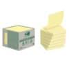 """Bloček Post-it® """"Z"""" recyklované, 76 x 76 mm, 6 bločků á 100 lístků, žluté"""