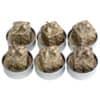 Weihn.Teelicht 6ST Paket gold N19015-3009-10