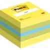 Kostka Post-it® MINI, samolepicí, citronová, 51 x 51 mm, 400 lístků