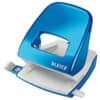 Děrovačka Leitz NeXXt 5008, celokovová, průřeznost 30 listů, metalická modrá
